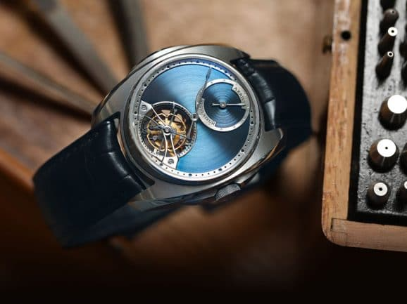 Luxusuhr mit individuellem Design: Akrivia AK-04 Tourbillon Regulateur­ (ausverkauft)