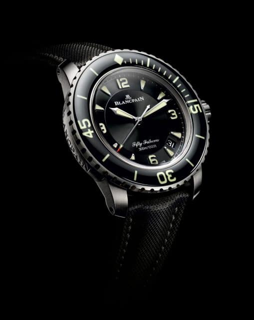 Blancpain: Fifty Fathoms in Titan