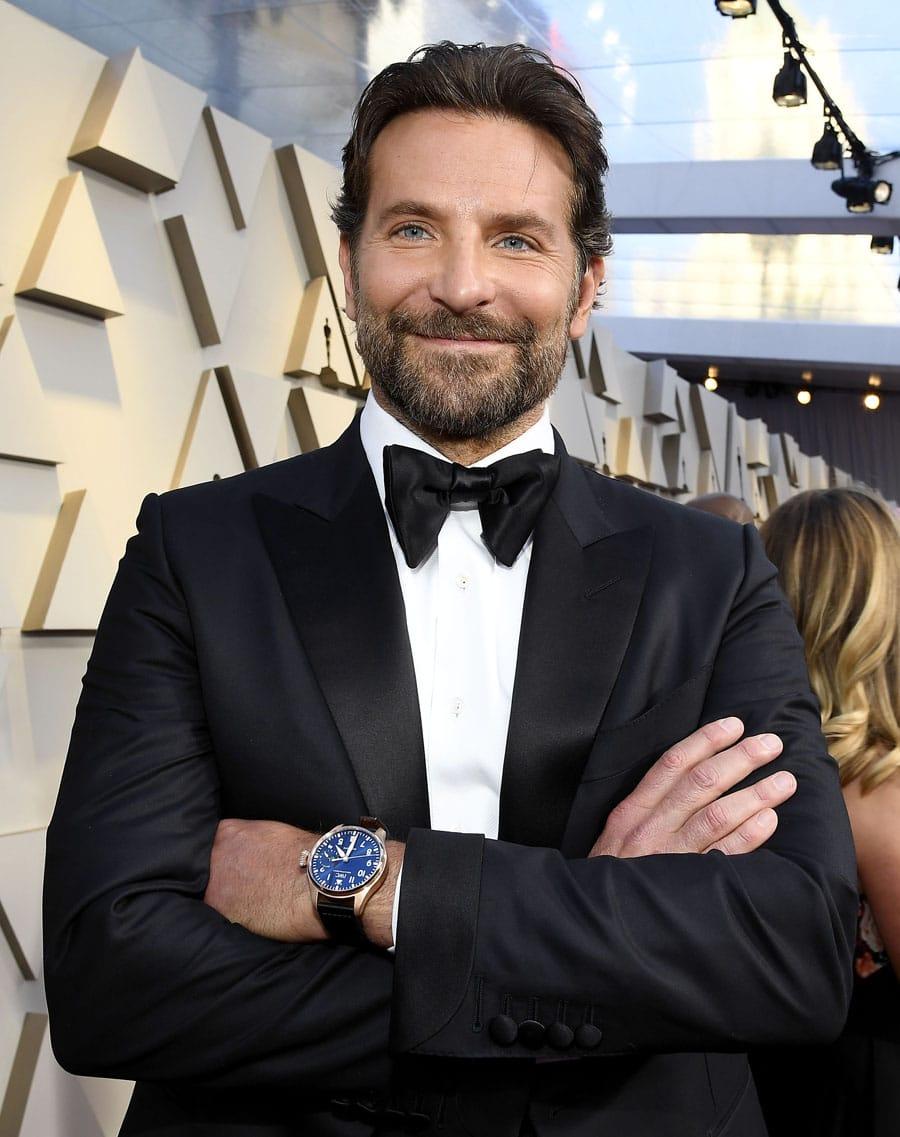 Bradley Cooper trug eine Big Pilot's Watch Single Piece (IW500923) bei der Oscar-Verleihung 2019