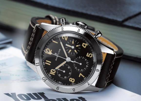 Breitling: Avi Ref. 756 1953 Re-Edition