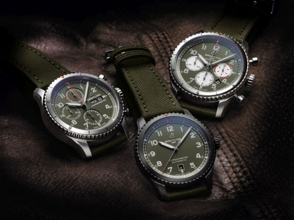 Breitling: die neue Kollektion Aviator 8 Curtiss Warhawk