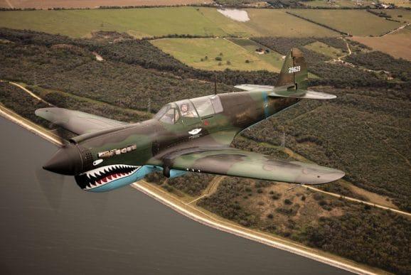 Flugzeugklassiker: die Curtiss Wright P-40 Warhawk
