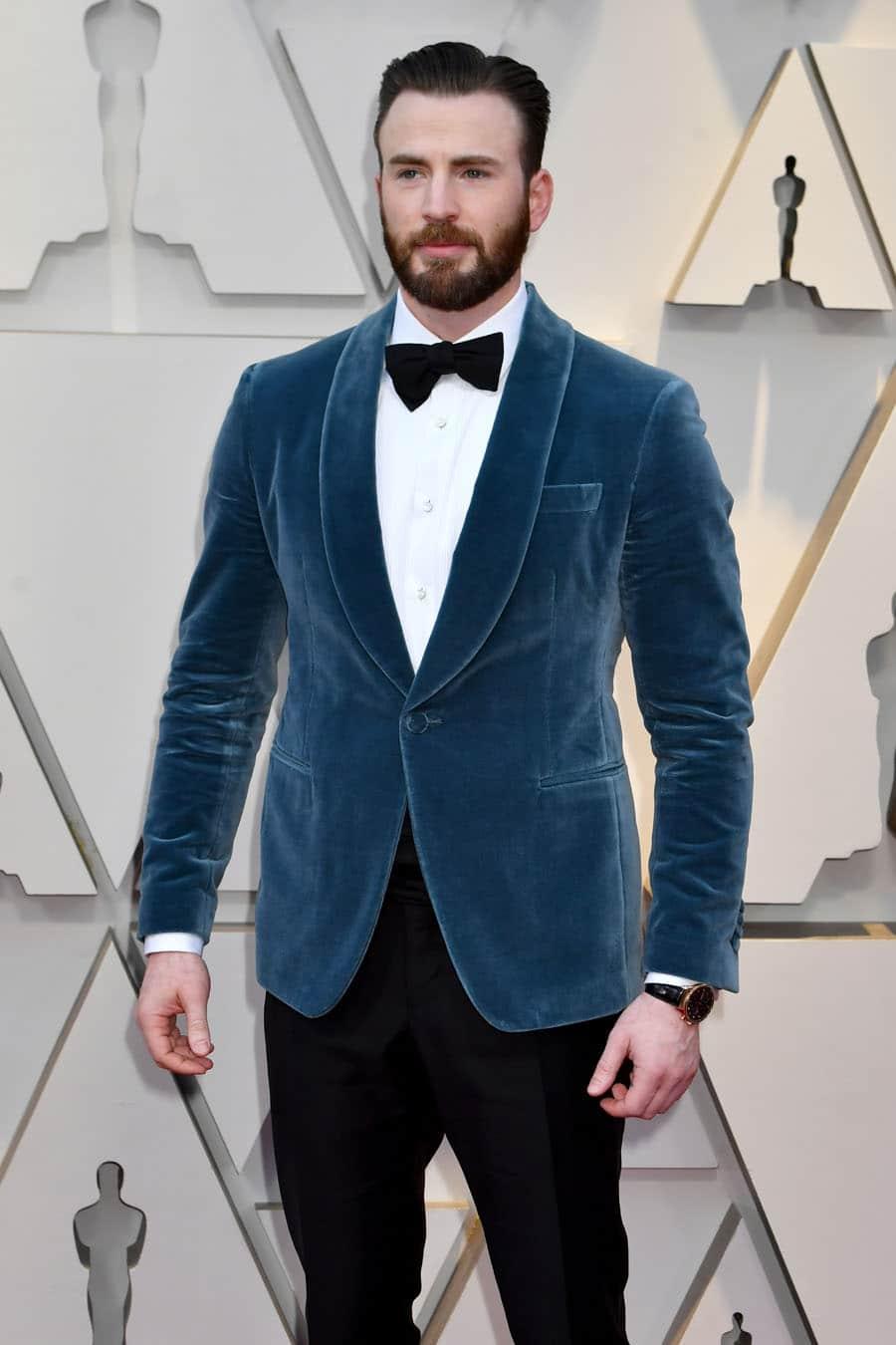 Oscars 2019 – Chris Evans trug einen Portugieser Chronograph (IW371482)