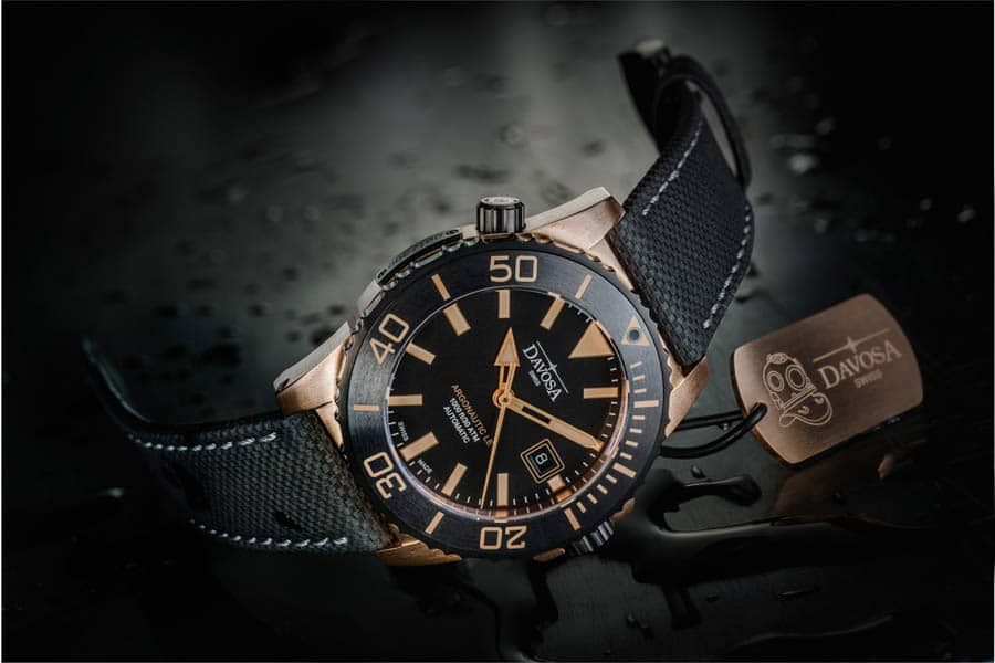 Davosa: Argonautic Bronze  Automatic Limited Edition
