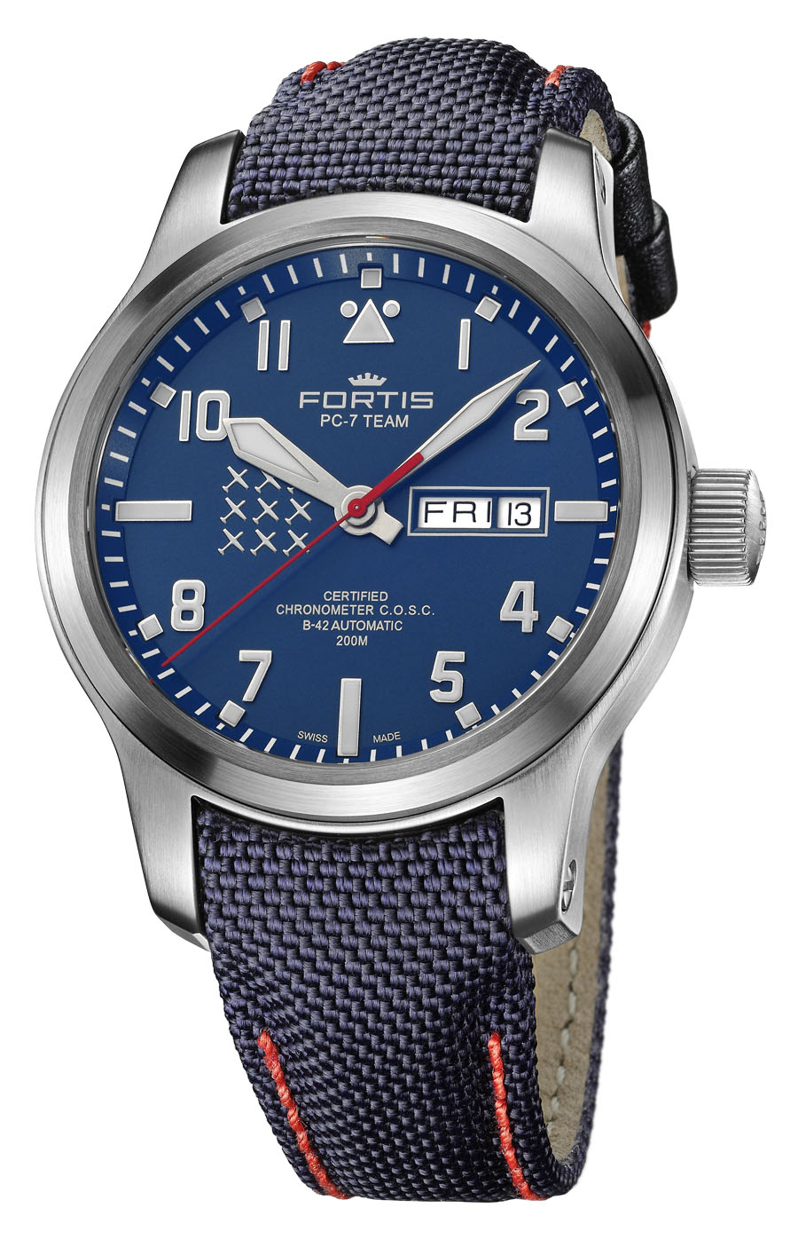 Fortis: PC-7 TEAM Day-Date Aeromaster