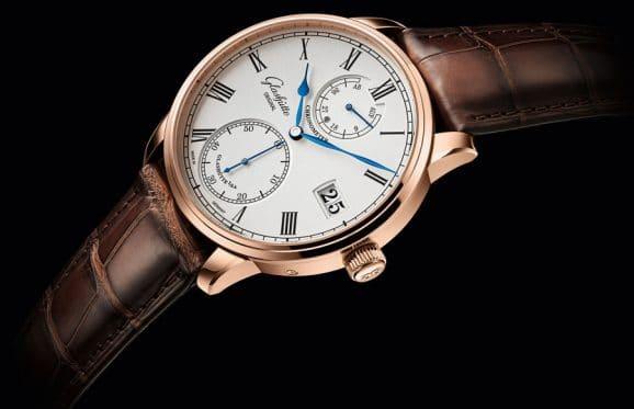 Glashütte Origional: Senator Chronometer in Rotgold