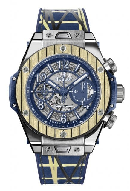 Hublot: Big Bang Unico Teak Italia Independent