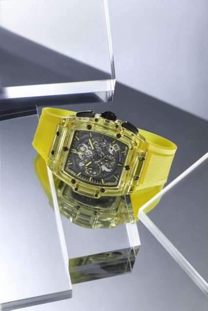 Hublot: Spirit of Big Bang Yellow Sapphire