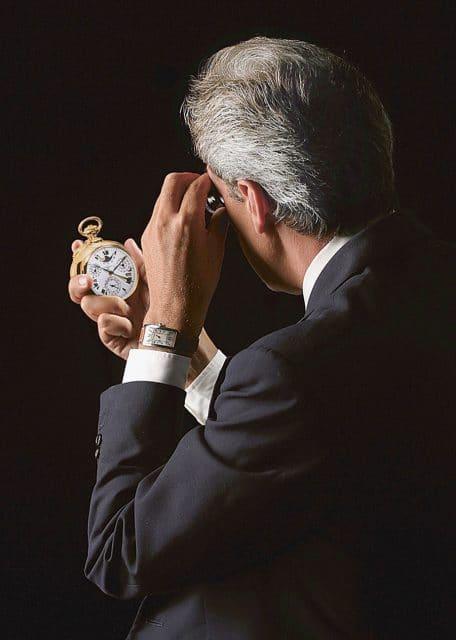 John Goldberger ist Uhrensammler und Autor verschiedener Uhren-Standardwerke