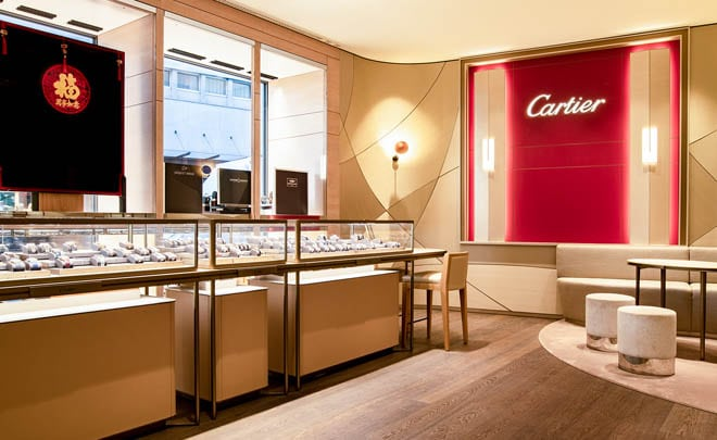 Juwelier Embassy: Boutiqe Grendel, Showroom Cartier