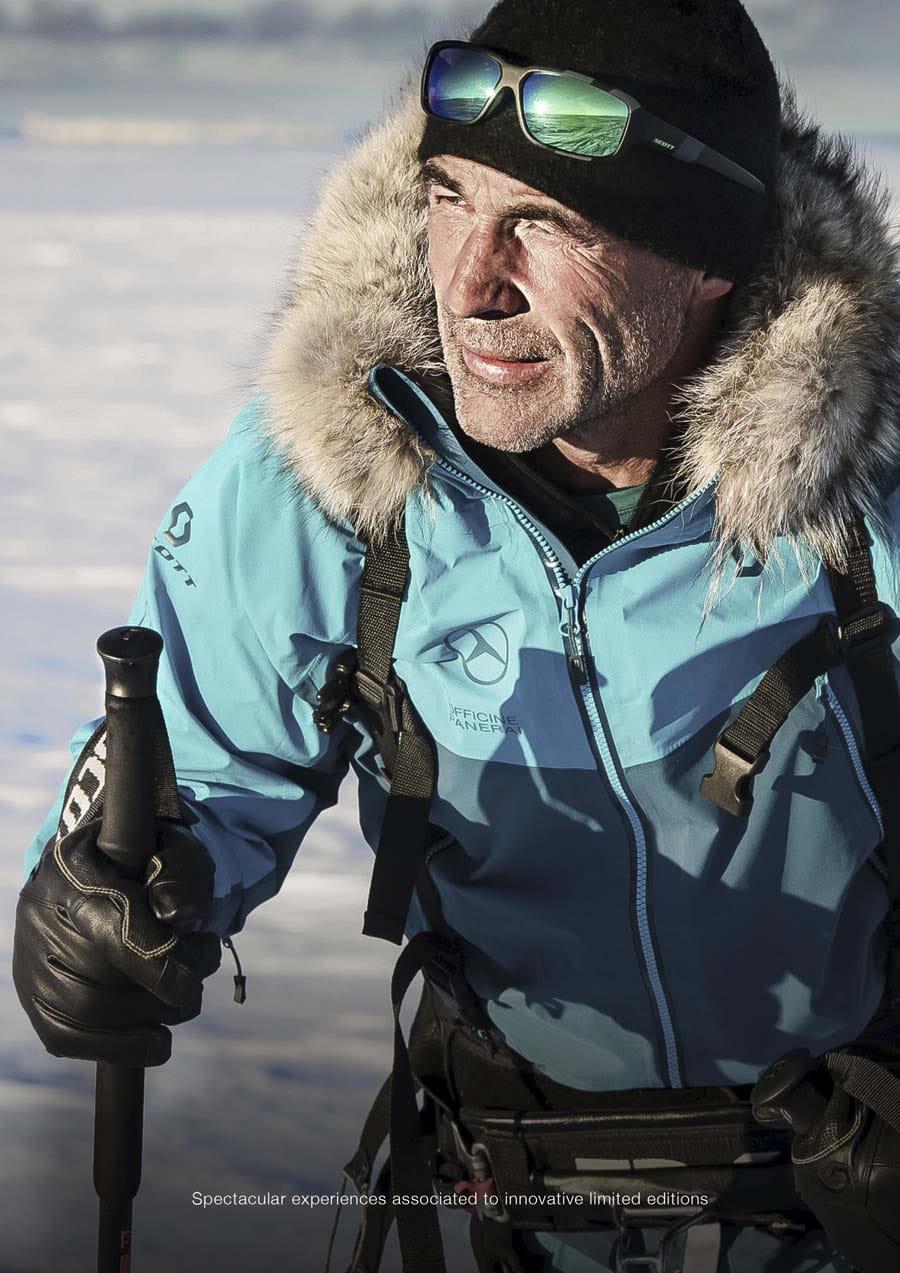 Expedionsspezialist und Abenteurer Mike Horn