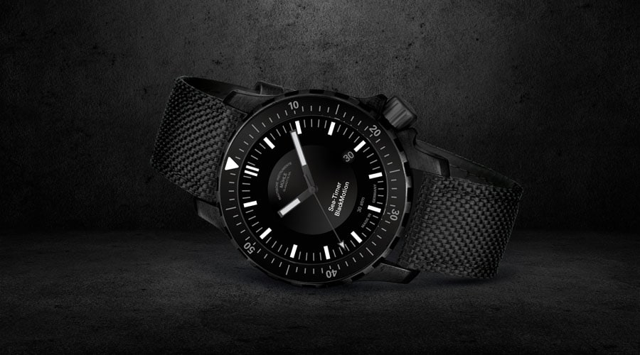 Mühle-Glashütte: Sea-Timer BlackMotion