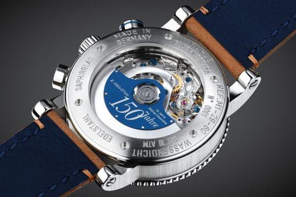 Über dem Werk der neuen Teutonia Sport I dreht sich ein blauer Jubiläumsrotor