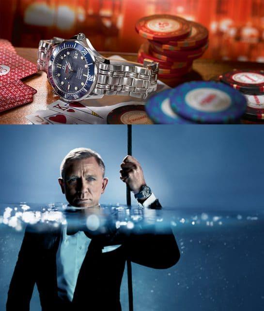 2006: neuer James Bond - dieselbe Uhr