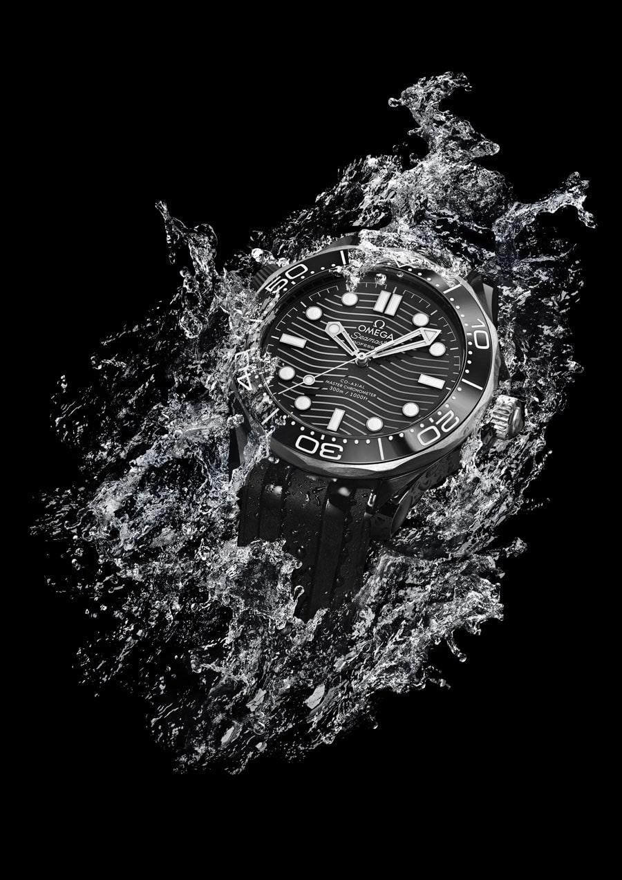 Omega: Seamaster Diver 300M in Keramik und Titan
