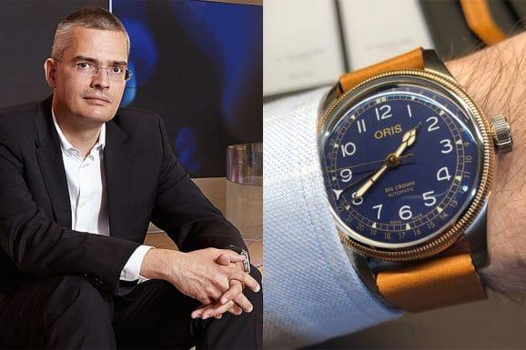 Tipp für eine bunte Uhr von Chronos-Chefredakteur Rüdiger Bucher: Oris Big Crown Pointer Date in Blau