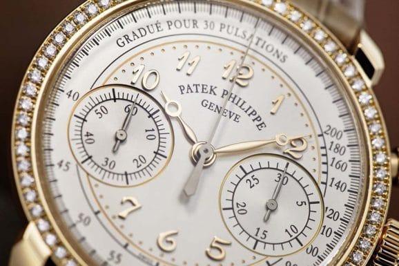Erhält den Jury-Preis für die beste Damenuhr: Patek Philippe Ladies Chronograph Referenz 7150.