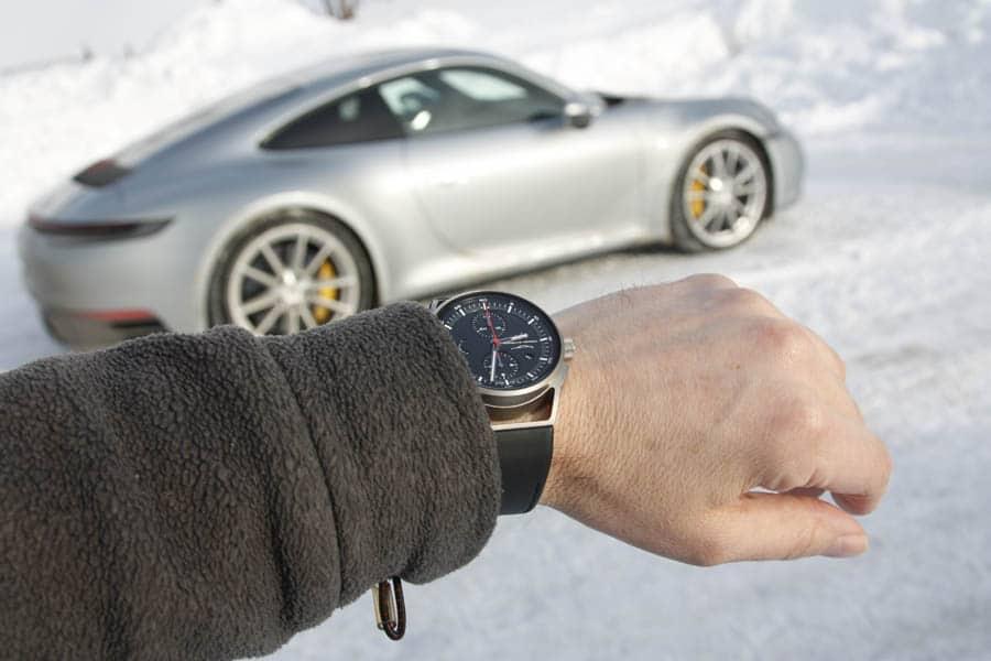 Porsche Design 911 Chronograph Timeless Machine Limited Edition und der neue Porsche 911 (992)