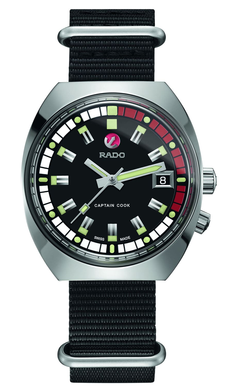 Rado Tradition Captain Cook MKII Automatic Limited Edition mit Nato-Band