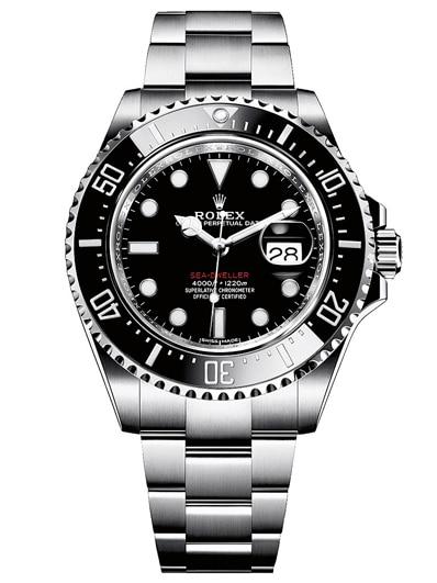 Gehört zu den Besten Ihrer Kategorie: Rolex Oyster Perpetual Sea Dweller.