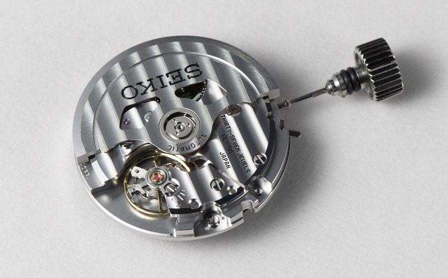 Automatisches Manufakturwerk: das Seiko-Kaliber 8L55