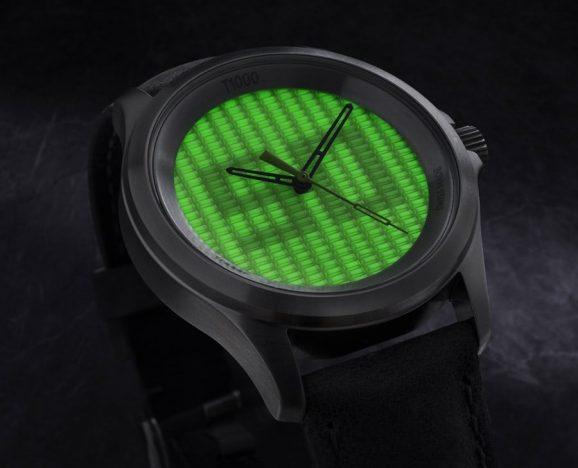 Die T1000 von Traser ist die bisher hellste, selbstleuchtende Uhr der Welt.