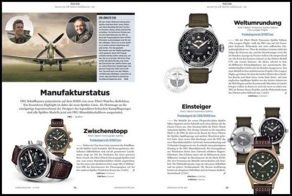 Neuheiten vom Genfer Uhrensalon