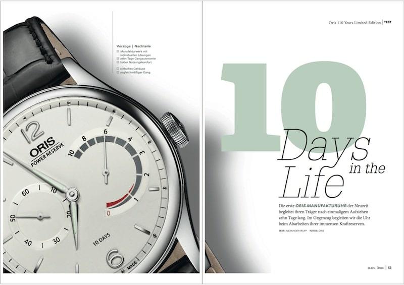 Produkt: Download: Die 110 Years Limited Edition von Oris im Test