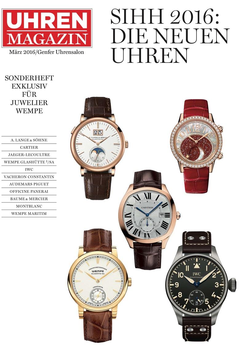 Produkt: Genfer Uhrensalon SIHH 2016: Die wichtigsten neuen Uhren