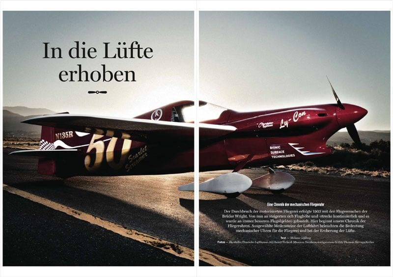 Produkt: Download Artikel: Chronik der mechanischen Fliegeruhr