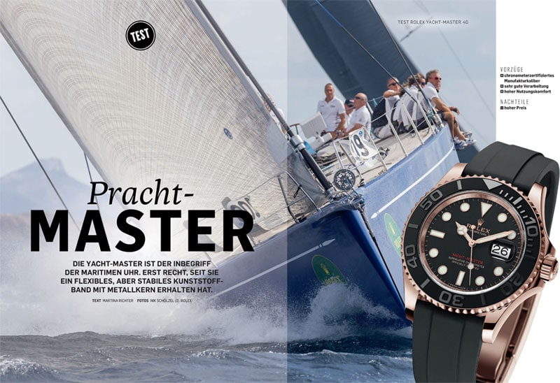 Produkt: Download: Rolex Oyster Perpetual Yacht-Master im Chronos-Test