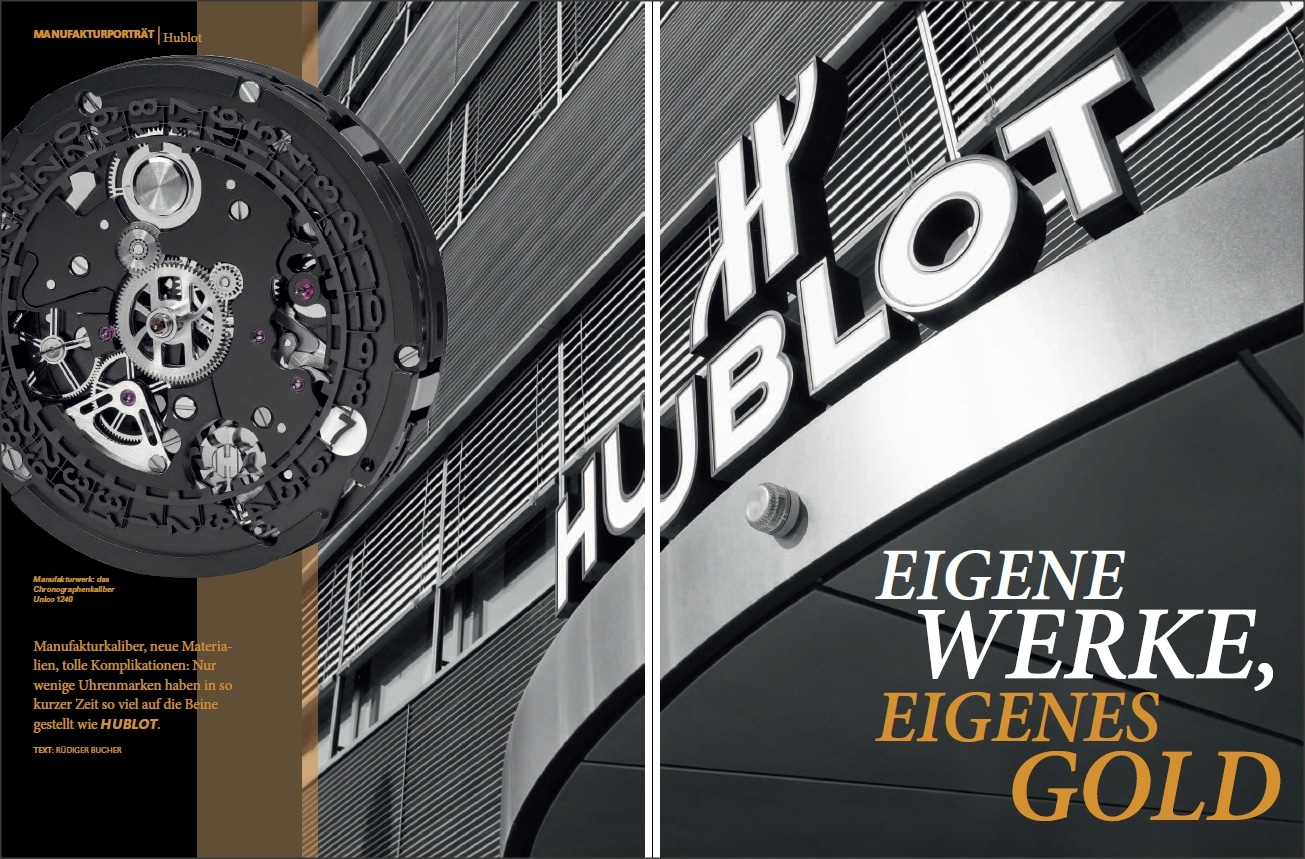 Produkt: Download Markenporträt: Hublot