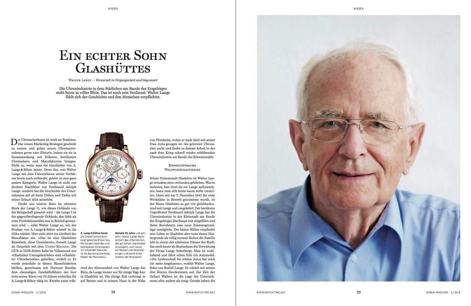 Produkt: Download Porträt Walter Lange