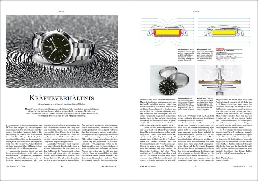Produkt: Download Artikel Uhren mit Magnetfeldschutz