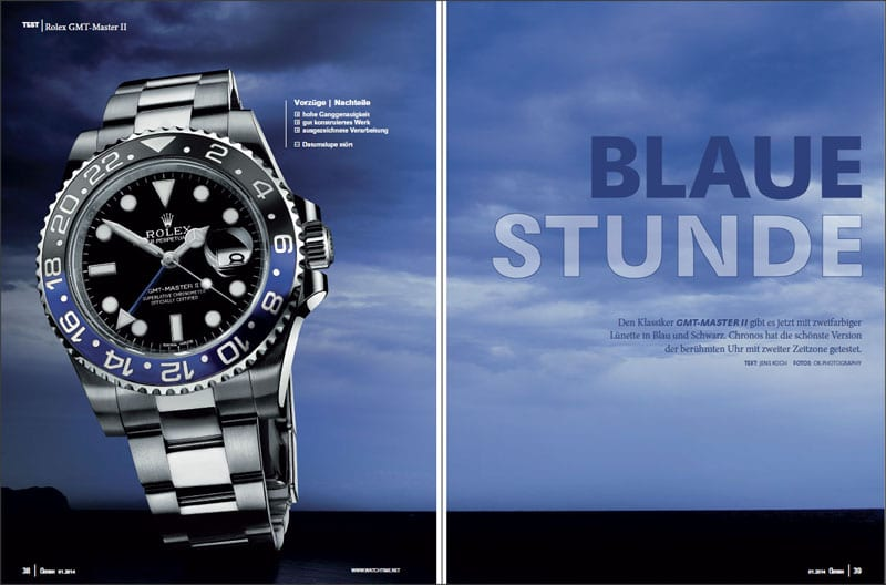 Produkt: Download Einzeltest: Rolex GMT-Master II
