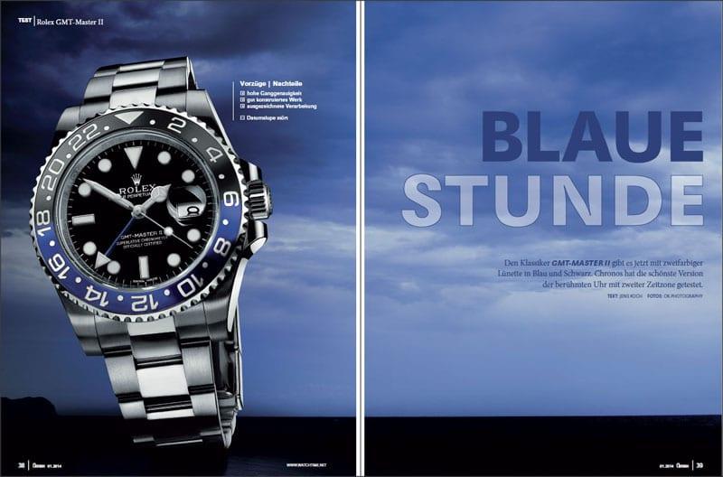 Produkt: Download Einzeltest: Rolex GMT-Master II