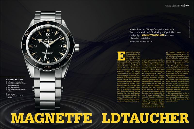 Produkt: Download Einzeltest: Omega Seamaster 300