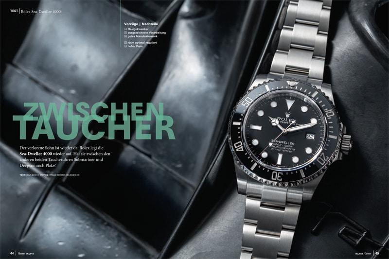 Produkt: Aktion: Download Einzeltest Rolex Sea-Dweller 4000
