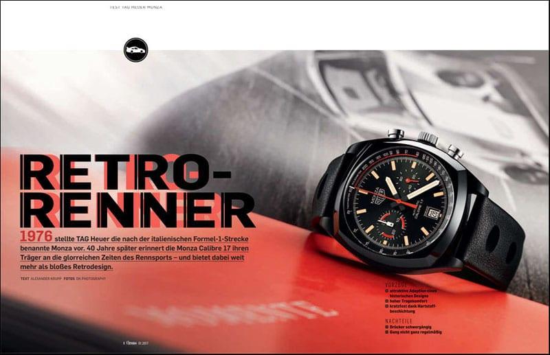 Produkt: Download: Die TAG Heuer Monza Calibre 17 im Test