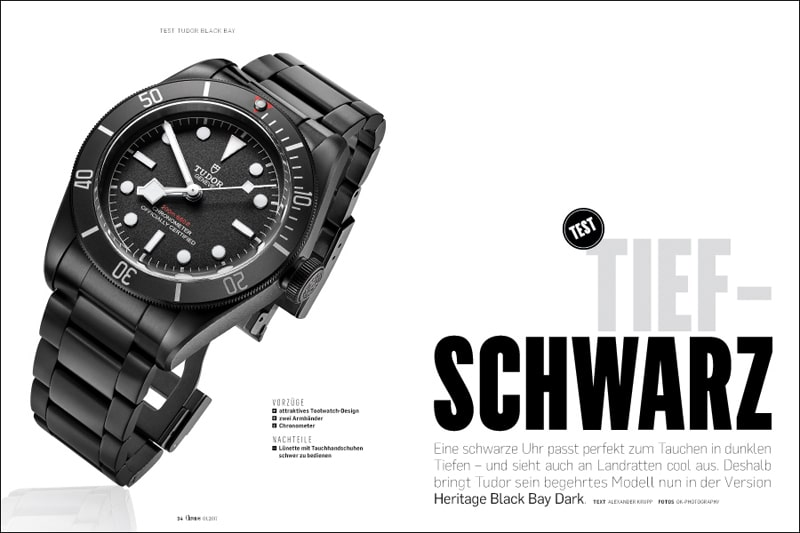 Produkt: Download Einzeltest: Tudor Heritage Black Bay Dark