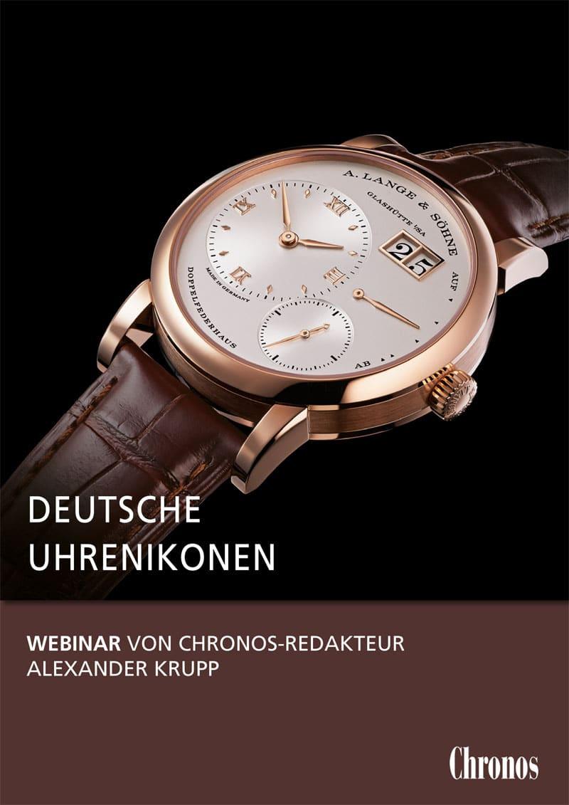 Produkt: Video-Vortrag: Deutsche Uhrenikonen