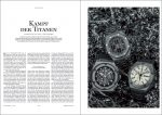 Produkt: Download Vergleichstest Titan-Chronographen: Audemars Piguet, Hublot und IWC