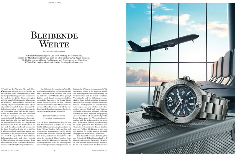 Produkt: Download Einzeltest Breitling Colt Automatic