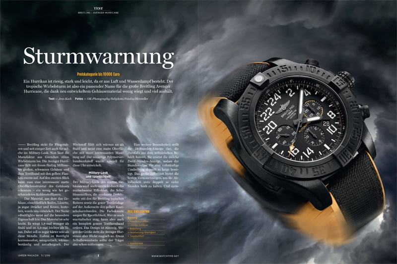 Produkt: Download Einzeltest: Breitling Avenger Hurricane