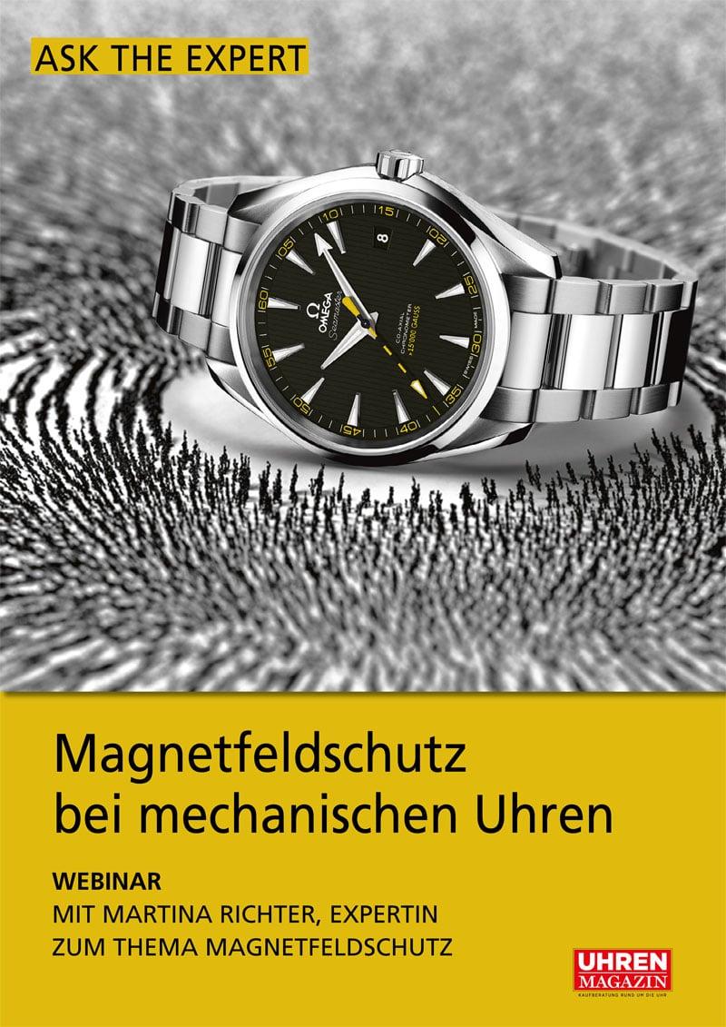 Produkt: Ask the Expert: Magnetfeldschutz bei mechanischen Uhren