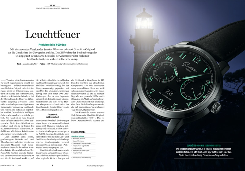 Produkt: Download: Glashütte Original Senator Observer im Test