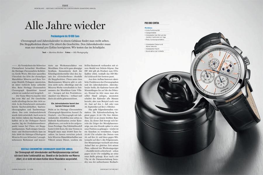 Produkt: Download: Montblanc Heritage Chronométrie Chronograph Quantième Annuel