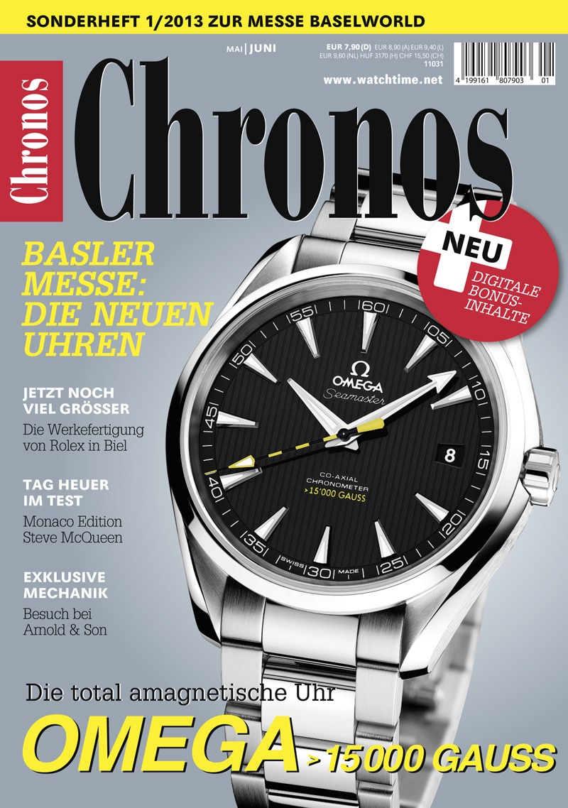 Produkt: Chronos Special Basel / Genf 2013
