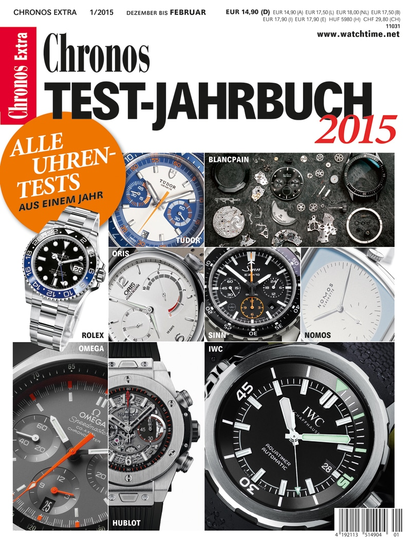 Produkt: Chronos Testjahrbuch Digital 2015