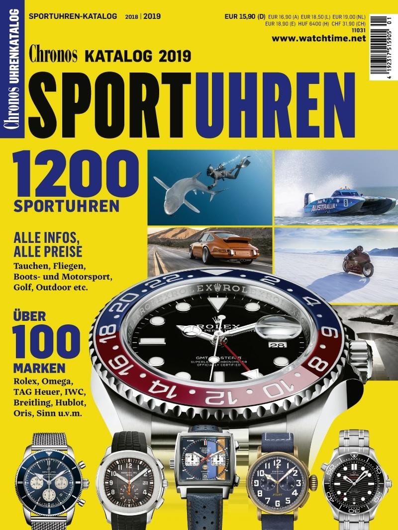 Produkt: Chronos Sportuhren Katalog 2018/19 digital